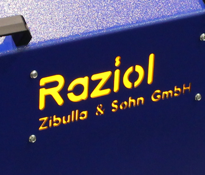Comfort dosing control unit for high-precision dosing of lubricants in conjunction with Raziol spraying fixtures for sectoral lubrication